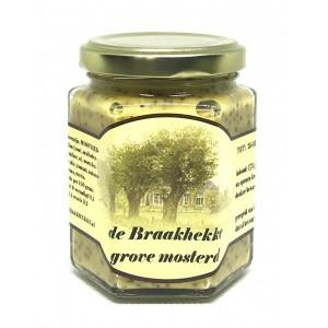 De Braakhekke grove mosterd